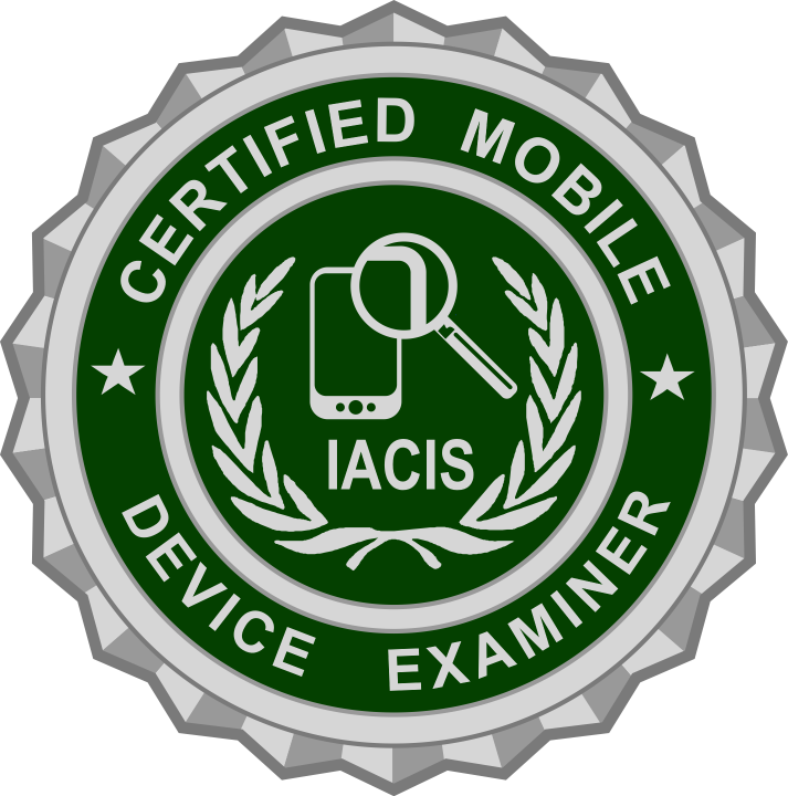 Iacis Iacis Certified Mobile Device Examiner